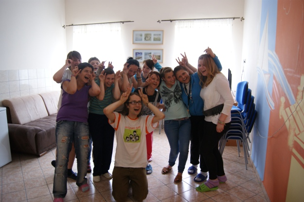 jogin śmiechu z dziewczynami z MOW Kwidzyn