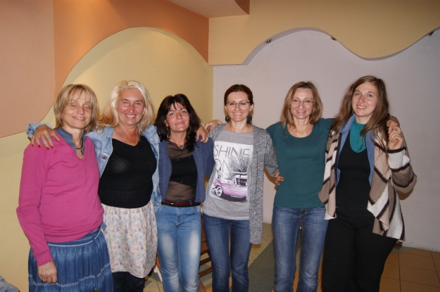 po moim warsztacie w Łodzi, Agnieszka Czubak pierwsza z prawej