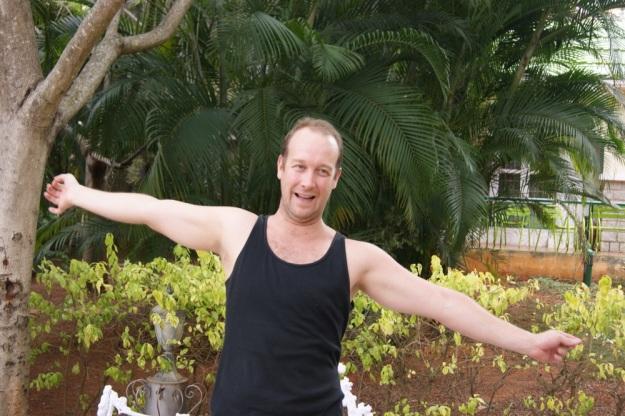 Jason z Moskwy, mój niezawodny w śmiechu przez skype kolega