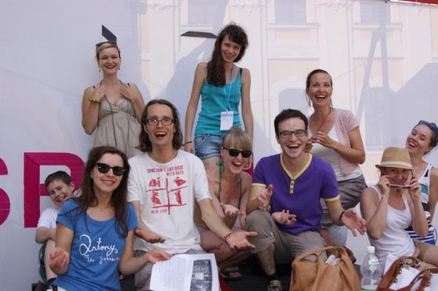 Jogin śmiechu na Festiwalu Malta w Poznaniu