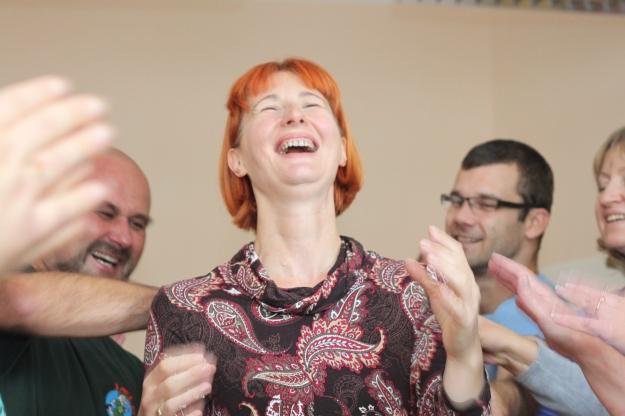 Basia Rózycka na kursie liderskim, fot. Awa Bajer